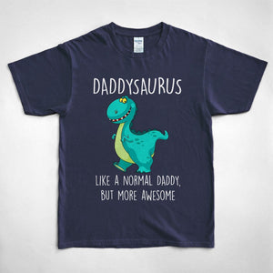 Pemola, Daddysaurus Tshirt, gifts for him, birthday gifts for dad, funny dad shirts, father's day t shirts