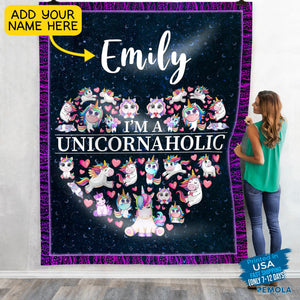 Pemola -Unique Unicorn Gifts, Custom Blankets, Photo Blanket, Personalized Blankets, Picture Blanket