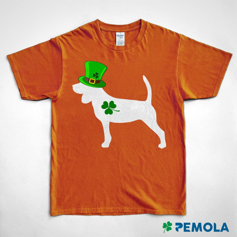 Pemola, Beagle Shirt, Dog Shirts, St. Patrick's Day Shirts, Womens St patricks Day Shirts, Graphic Tees For Women