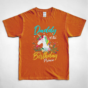 Pemola, Daddy Of The Birthday Prince Shirt, Cute Unicorn Shirts, Family Matching Shirts, Shirt For Mens