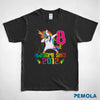 Pemola, Unicorn t shirt, unique Unicorn gifts, gifts for 8 year old boys, birthday t shirt