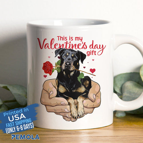 Pemola - Rottweiler Mugs, Valentines Day Gifts,  Valentines Day Gifts For Him, Valentines Day Gifts For Her, Valentines Day Ideas