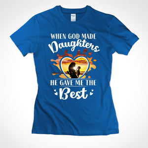 Pemola, Mom shirts, My daughters is the best shirts, funny mom shirts, Shirts with Saying, graphic tees for women