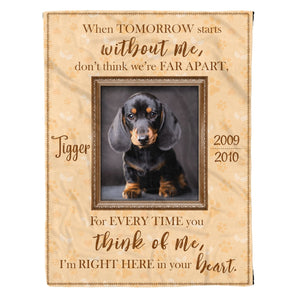 Pemola, personalized dog name blankets, custom dog picture blankets