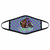 Pemola California Chrome Cloth Face Masks, Horse Racing Cloth Face Covers, Horse Face Coverings