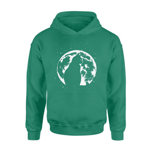Pemola - Cat Moon Hoodie, hoodies for men, hoodies for women, cool hoodies, graphic hoodies