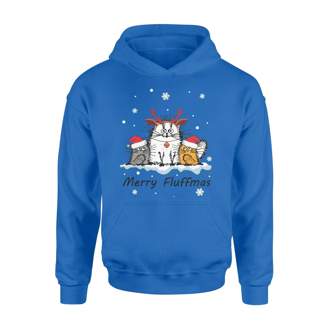 Pemola - Merry Fluffmas Christmas Hoodie, hoodies for men, hoodies for women, cool hoodies
