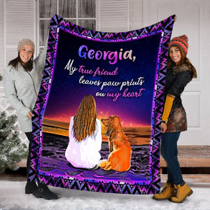 Pemola, Dachshund blanket, dog blanket, custom blankets, pet blanket, personalized name blankets, fleece blankets