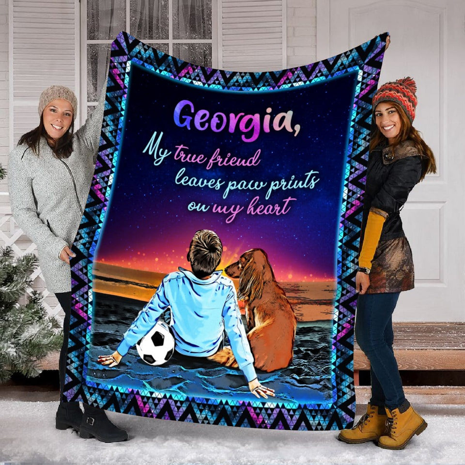 Pemola, Dachshund blanket, dog blanket, custom blankets, pet blanket, personalized name blankets, personalized gifts
