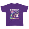 Mermaid birthday shirt, birthday shirts, birthday girl shirt, birthday boy shirt, custom birthday shirts, custom t shirts