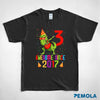 Pemola - T-rex t-shirt, birthday gift, gifts for 3 year old boys, youth tshirts