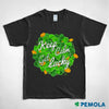 Pemola, Get Lucky t shirts, st patrick's day shirts, funny st patricks day shirts, st patricks day graphic tee