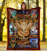 Pemola Native American Fleece Blankets, Owl Blanket, Birthday gifts, Owl native American