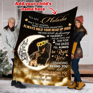 Pemola, dachshund blanket, personalized name blankets, pet blanket, custom blankets, personalized blankets, fleece blankets