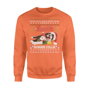 Pemola, Border Collie Dog Sweatshirts, sweatshirts with dogs, Sweatshirt