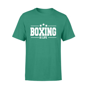Pemola - Boxing is Life quote T-shirt, graphic tees, funny t shirts, cool t shirt, friends t shirt