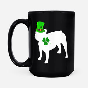 Pemola, French Bulldog Mug, Dog Mug, Gifts For Dog Lovers, St Patrick's Day 2020, French Bulldog Gifts, Black Coffee Mug