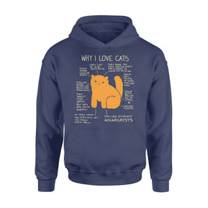 Pemola - Why I love Cats Hoodie, hoodies for men, hoodies for women