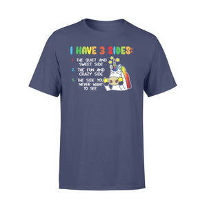 Pemola, I have 3 side shirt, unicorn t shirt, unicorn gifts, best friend gifts, funny t shirts, shirts for girl