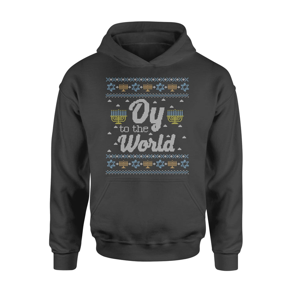 Pemola - Happy Hanukkah Hoodie, cool hoodies, graphic hoodies