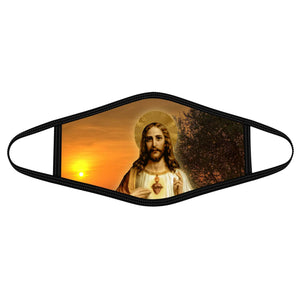 Pemola Jesus Saviour Cloth Face Masks, Jesus Face Coverings, Christian Cloth Face Covers