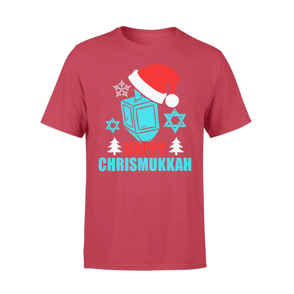Pemola - Happy Chrismukkah T-shirt, graphic tees, funny t shirts, cool t shirt, friends t shirt