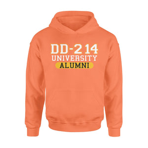 Pemola - DD 214 University Alumni Hoodie, hoodies for men, cool hoodies, graphic hoodies