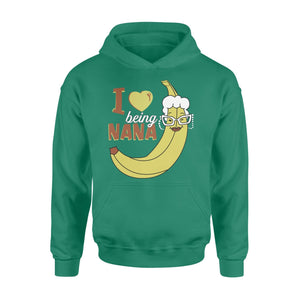 Pemola - Love Being Nana Hoodie, hoodies for women, cool hoodies, graphic hoodies