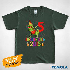 Pemola - Dinosaur birthday shirt, birthday shirts, birthday girl shirt, birthday boy shirt, custom birthday shirts, custom t shirts