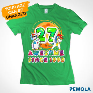 Pemola, personalized birthday gifts, women unicorn birthday shirt, unicorn t shirt, shirts for women