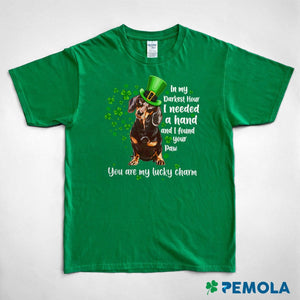 Pemola, dachshund shirt, dog shirts, st patricks day shirts, womens st patricks day shirts, st patricks day graphic tee