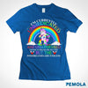Pemola, Currently Unmedicated Women's T-shirt, unicorn shirts, unicorn shirts for girls, unicorn shirts for womens, funny shirts