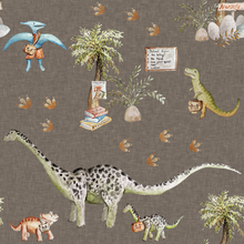 Load image into Gallery viewer, Dino School Jumper Dress