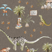 Load image into Gallery viewer, Dino School Shortie Romper