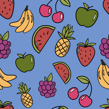 Load image into Gallery viewer, Blueberry Fruit Shortie Romper