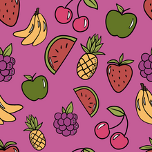 Load image into Gallery viewer, Raspberry Fruit Romper