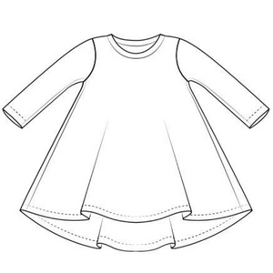 Arctic T-Shirt Dress