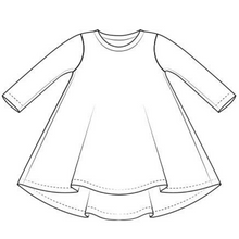 Load image into Gallery viewer, Simply Sharky T-Shirt Dress
