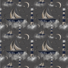 Load image into Gallery viewer, Rock Sailboat Shortie Romper