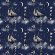 Load image into Gallery viewer, Midnight Sailboats T-Shirt