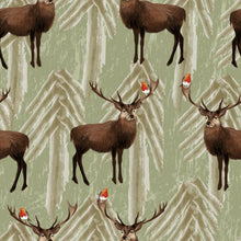 Load image into Gallery viewer, Stag & Robin Romper