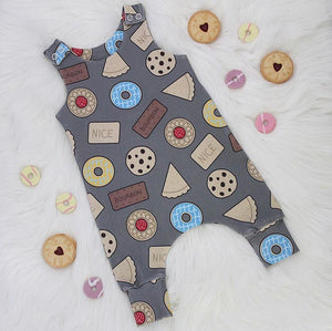 Biscuit Tin Romper