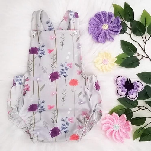 Botanical Summer Romper