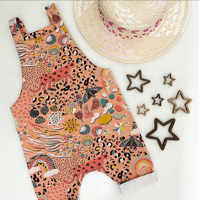 Wild Mix Shortie Romper