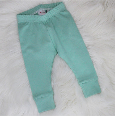 Mint Leggings 3-6 Months