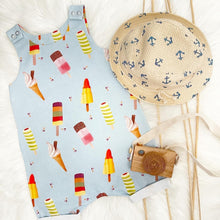 Load image into Gallery viewer, Ice Lolly Shortie Romper