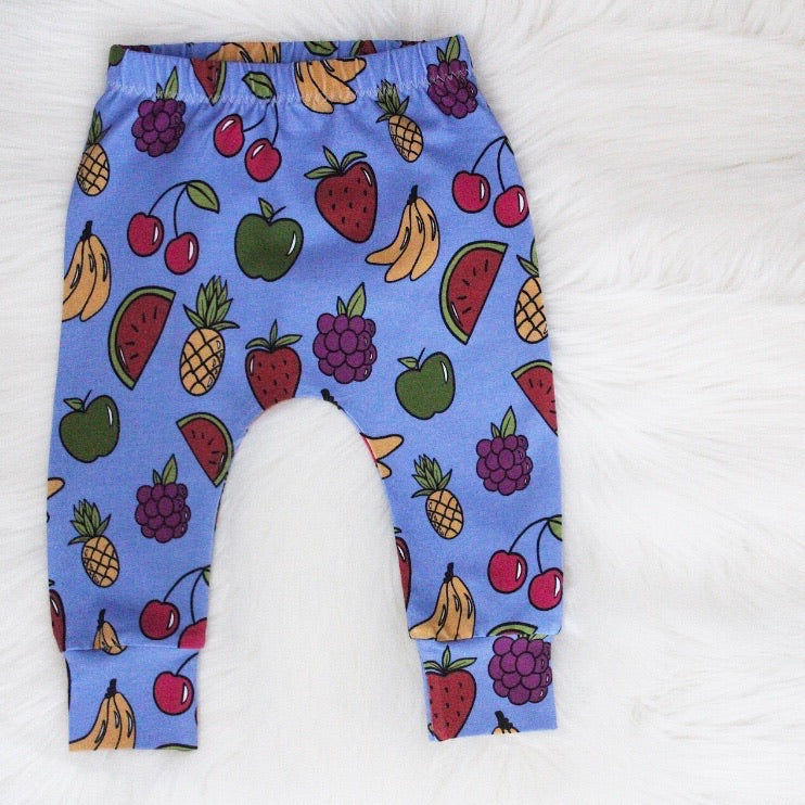 Blueberry Fruits Leggings 9-12 Months