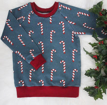 Load image into Gallery viewer, Candy Cane Sweatshirt