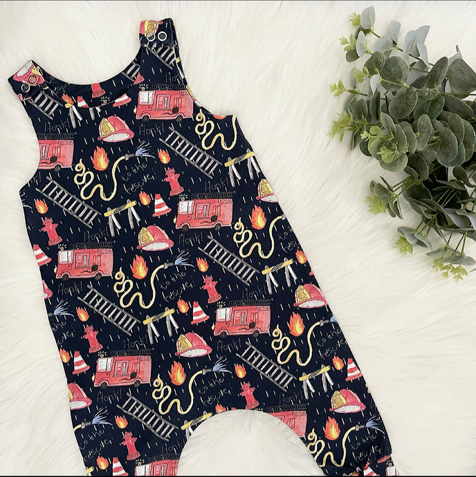 Fire Rescue Romper