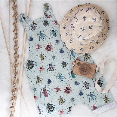 Spotty Beetles Shortie Romper